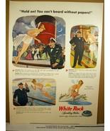 1947 Ad Vintage White Rock Sparkling Water - $8.99