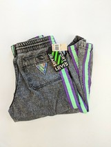 VTG NWT Levis Sport Jeans Deadstock Green Purple Acid Wash Pants Size M ... - $68.60