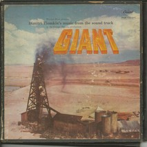 VINTAGE 1956 Giant Soundtrack Vinyl Record Album Dimitri Tiomkin - $29.69