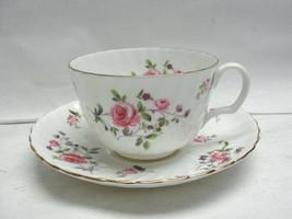 ROYAL ADDERLEY China - FRAGRANCE Pattern (roses) - CUP & SAUCER SET - $25.43