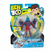 Ben 10 OMNI-ENHANCED HEATBLAST Toy Action Figure 12.5 cm Original, New &... - $29.62