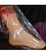 Body Part Bloody Severed Foot Halloween Prop Tomb Party Favor Haunted Ho... - $9.99