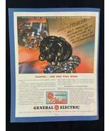 General Electric Plastics Magazine Ad 10.75 x 13.75 Mutual Benefit Insur... - $9.89