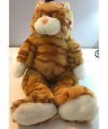 "Build-a-Bear Workshop Stripped Tabby Cat 16"" Plush Stuffed Animal BABW - $11.99"