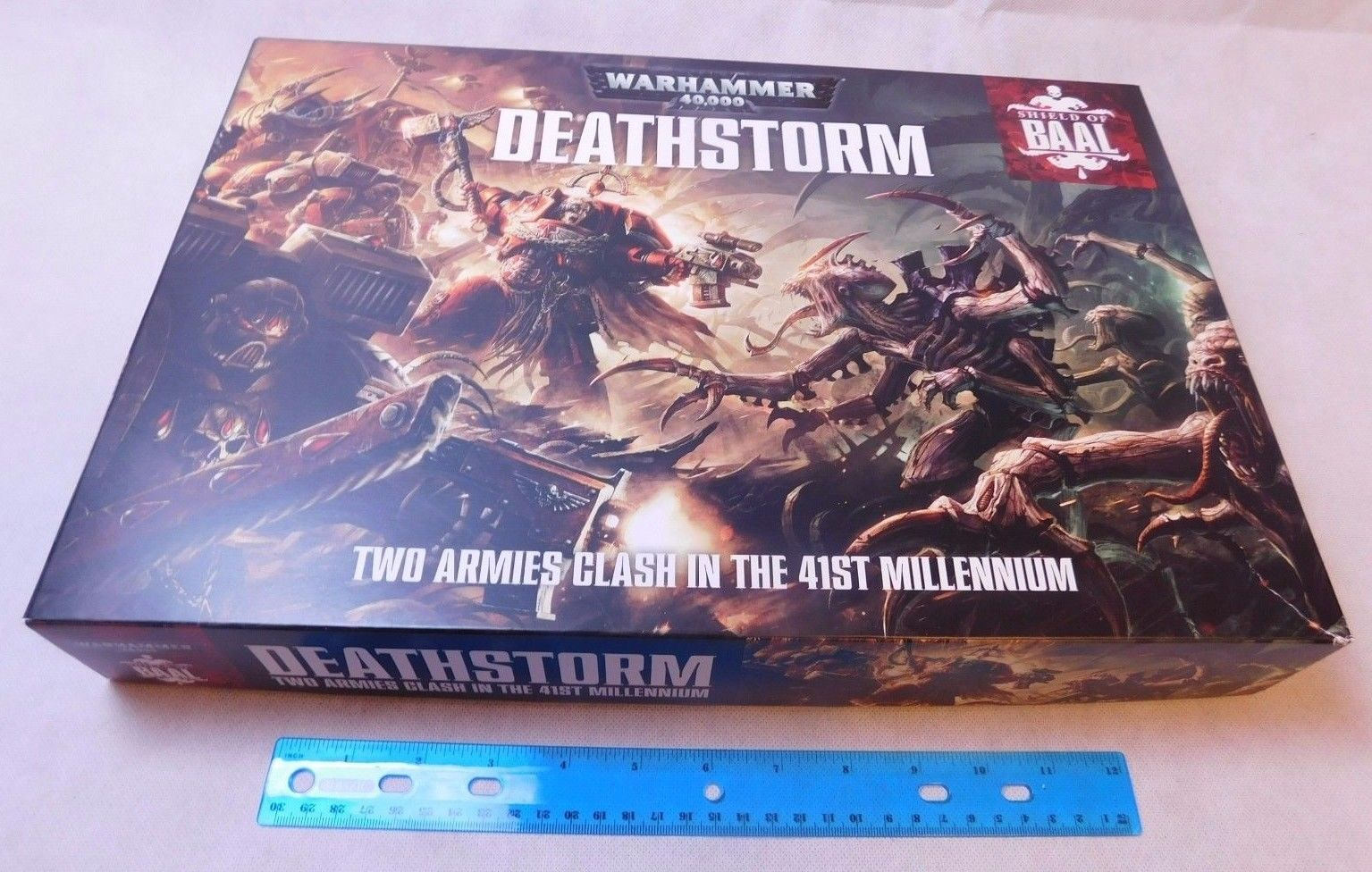 Warhammer 40K Deathstorm Shield of Baal Tyranids vs Blood Angels BOX ONLY