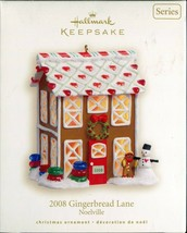 2008 Hallmark Keepsake Ornament - Gingerbread Lane Noelville - 3rd in Se... - $9.89