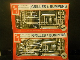 AMT 1950 & 1960's 1:25 Scale Model Car Grilles & Bumpers Custom Competit... - $26.17