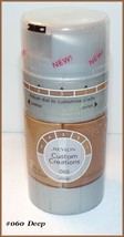 NEW & SEALED Revlon Custom Creations Foundation - DEEP #060  FREE SHIP +... - $7.95