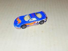 Vintage Diecast Mattel Hot Wheels Blue Camaro - H2B - $1.46