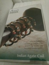 Annie's Simply Beads Indian Agate Coil Bead Making Set - $9.89