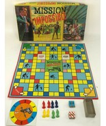 Vintage 1966 Ideal Mission Impossible Board Game 100% COMPLETE - $89.09