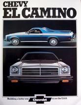 1974 Chevy Chevrolet El Camino Original Dealer Sales Brochure - $14.91