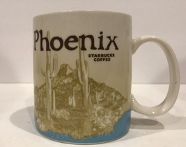 Starbucks Ceramic Coffee Mug Collector Series 2010 Phoenix Tea Cup - $44.54