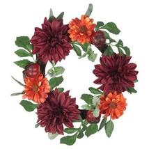 "Lloyd & Hannah 19"" Harvest Mixed Floral and Pomegranate Wreath - $18.99"