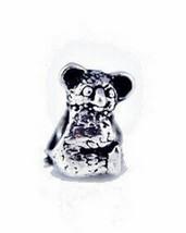 NICE Koala Charm bead fit jewelry Sterling Silver .925 - $26.93