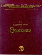 The Complete Book of Dwarves (Advanced Dungeons & Dragons Player's Handb... - $47.36