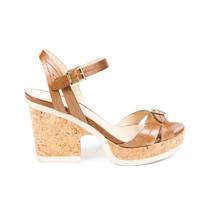 Jimmy Choo Vachetta Nemesis Cork Platform Sandals SZ 40.5 - $205.00