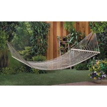 Sturdy Cotton Double Hammock Available in 2 Colors - $39.95+