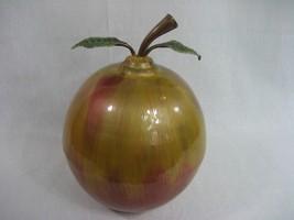 Metal Apple Art Home Decor Hand Crafted Centerp... - $9.85
