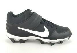 Nike Alpha Huarache Vrsty Mid Kystn Size 9.5, AO7956-001 Plastic Cleats  - $36.76