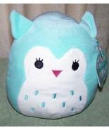 "Squishmallows Mint Green OWL WINSTON 8""H Plush NWT - $11.88"