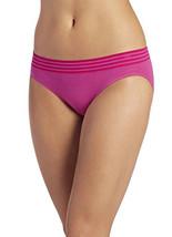 Jockey Women's Underwear Modern Cotton Seam free Bikini 2080, fuschia, 6 - $10.89