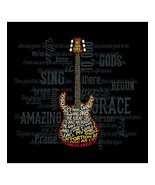 "Christian Mens T-Shirt ""AMAZING GUITAR""  by Ker... - $17.99 - $21.99"