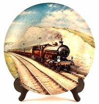 Davenport Southern Belle Paul Gribble Great Steam Trains Train Plate - $32.00