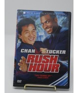 Rush Hour 1,2, & 3 Movie Collection Individual DVDs [Upgraded to Slim DV... - $9.89