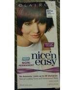Clairol Nice 'N Easy Non Permanent Hair Color 815R Deep Mahogany Auburn - $8.02