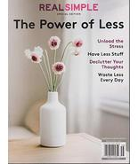 Real Simple The Power of Less Magaizne 2020/2021 Issue [Single Issue Magazine] V - $13.99