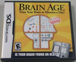 Brain Age : Train Your Brain en Minutos Un Día (Nintendo DS, 2006) - $4.95