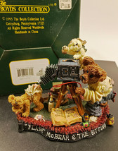 Boyds Bears 1999 Flash Mcbear And The Sitting Photography Figurine - $14.50