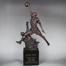 "Michael JORDAN 23 Mike Jordan Resin Statue Basketball myth 20""H GIFT New - $319.80"