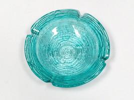 "VTG Anchor Hocking SORENO Blue Ashtray bowl candy dish 6 1/4"" vintage j... - $49.49"