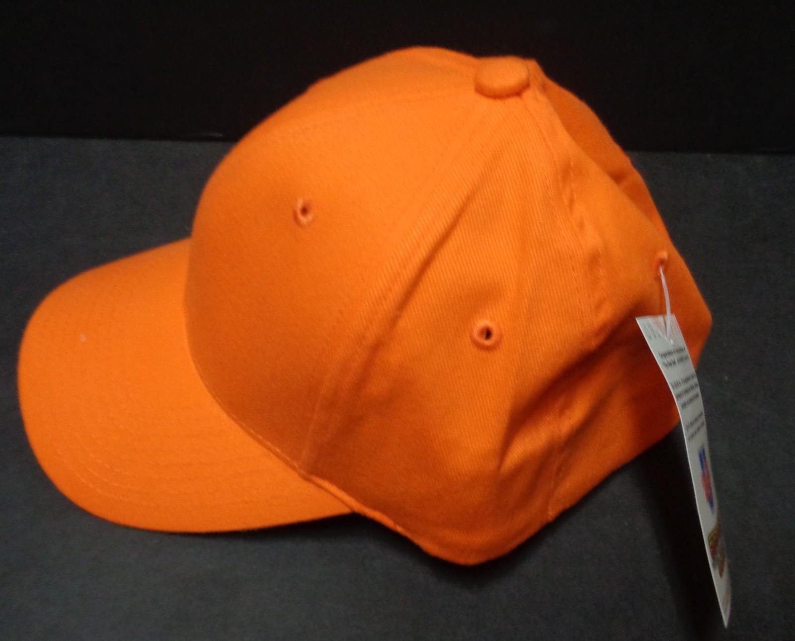 Unifit Comfort Baseball Hat Cap Astros Orange NWT SZ S/M Free Shipping
