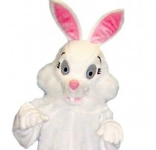 Deluxe Cute Easter Bunny Rabbit Mascot Costume - $391.36