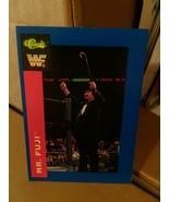 WWF MR FUJI CLASSIC SUPERSTARS TRADING CARD 47 1991 WRESTLING WWE WCW HA... - $23.40