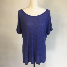 Joseph A Short Sleeve Thin Sweater Pullover High Low Top Shirt w Sleeve ... - $15.88