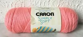 Caron Simply Soft Medium Weight Acrylic Yarn - 1 Skein Color Strawberry #0015 - $6.60