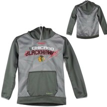 Chicago Blackhawks Reebok center ice hoodie youth kids size Small 8 - $14.63