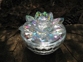 Haunted Magickal Crystal Archangel wishing Lotus Box binding portal recharging  - $333.33