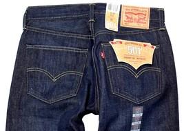NEW LEVI'S 501 MEN'S ORIGINAL FIT STRAIGHT LEG JEANS BUTTON FLY BLUE 501-1332
