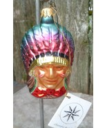 "Christopher Radko ""Indian Joe"" Christmas Ornament - $35.00"