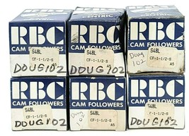 LOT OF 6 NIB RBC S48L CAM FOLLOWERS CF-1-1/2-S