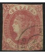 Spain 1860 Scott# 58a Used - $70.00