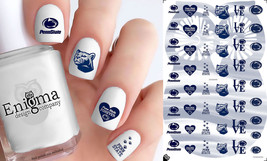 Penn State Nittany Lions Nail Decals (Set of 50) - $4.95