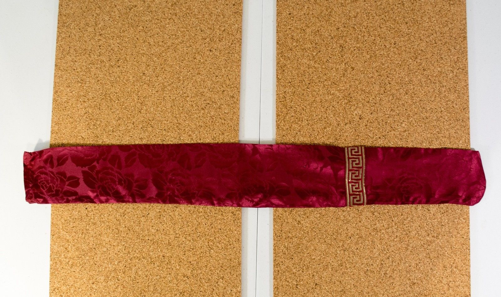 100% Handmade Cello Bow Bag made of 100% Silk Red Fast Shipping