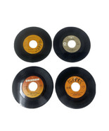 Lot Of 4 70s Country 45s Charlie Rich, Mac Davis, Glen Campbell, & Charl... - £10.42 GBP