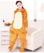 Tiger Cosplay  Costume Onesie Hooded Pyjamas Animal Sleepwear Pajamas Ki... - $28.99